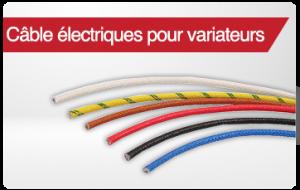 cables pour variateurs