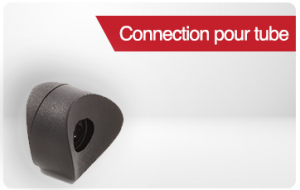 connection pour tube