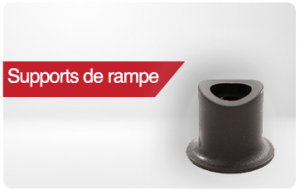 supports de rampe pour tube