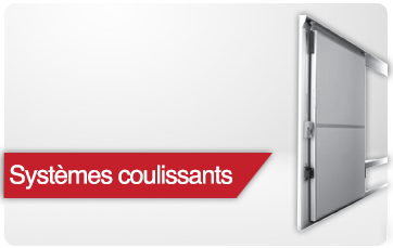 systemes coulissants