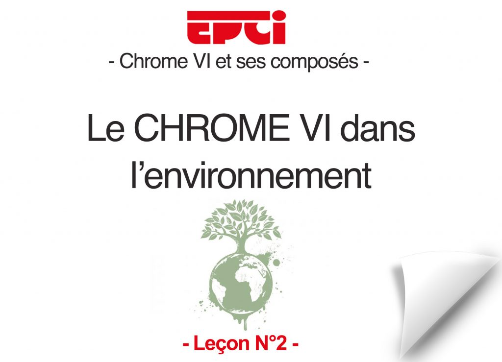 Chrome VI et l'environnement