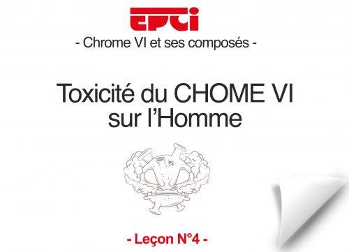 toxicité du Chrome VI sur l'homme