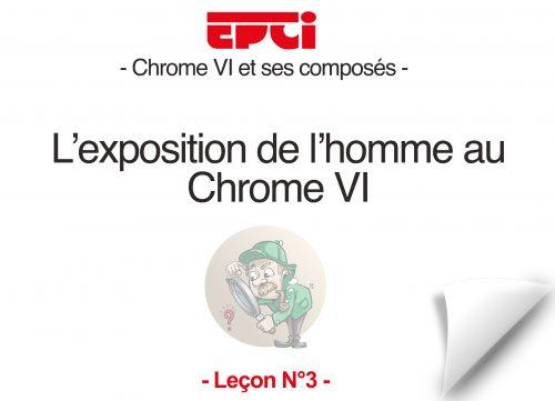 exposition de l'home au chrome VI